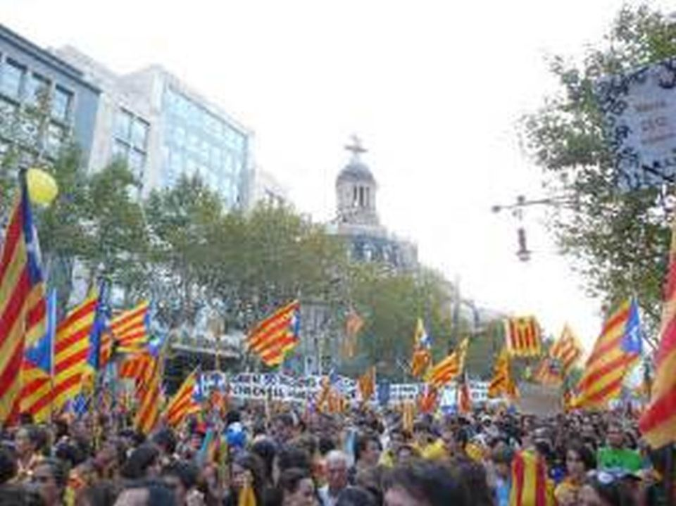 Catalan demonstrations and separatism