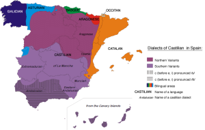 Languages spoken of Iberian Peninsula