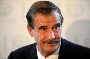 Former Mexican President, Vincente Fox