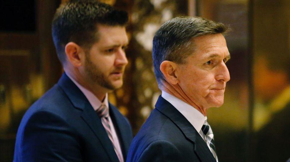 Michael Flynn Sr and Jr.